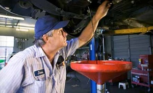 Advanced Automotive and Transmissions: $17 for a Basic Oil Change at Advanced Automotive and Transmissions ($35.57 Value)