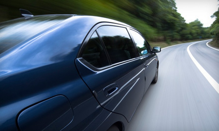 Qwik Auto Center - Pacific Beach: $135 for Window Tinting on Up to Five Rear Windows at Qwik Auto Center ($272 Value)
