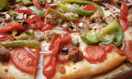 One or Two Groupons, Each Good for $20 Worth of Pizza and Salads at Zpizza (50% Off)