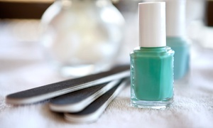 Sonu Aesthetic Day Spa: Mani-Pedi with Hydration Treatment and Optional French Nails, Custom Art, or CND Shellac Polish