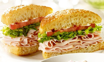 $17.50 for Five $6 Groupons, Each Valid for $6 Worth of Deli Sandwiches at Schlotzsky's ($30 Value)