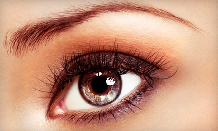 Hefner Eye Care and Optical Center with Mandy Clark - Northwest Oklahoma City: $59 for One Set of Eyelash Extensions and One Refill at Hefner Eye Care and Optical Center with Mandy Clark ($145 Value)