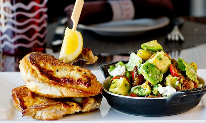Nosh Euro Bistro - Highland Park: European Fusion Cuisine for Lunch or Dinner at Nosh Euro Bistro (50% Off)