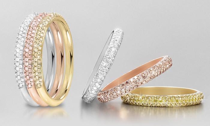 bague swarovski 3 anneaux