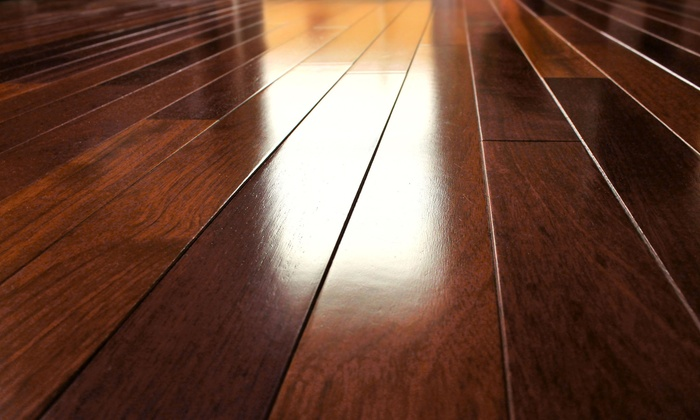Hardwood floor refinishing zudor flooring groupon for Hardwood flooring deals
