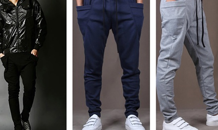 From $16.90 for a Pair of Harem-Style Sports Pants (worth up to $79.90). 3 Colours