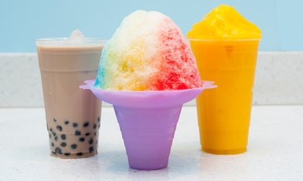 $12 for Four Groupons, Each Good for $5 Worth of Shave Ice and Treats at Icy-licious ($20 Total Value)