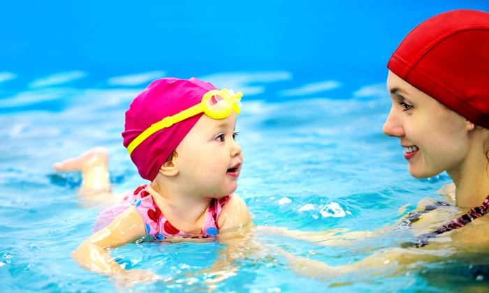 Delphi Swim School - Multiple Locations: Four or Eight Swimming Lessons at Delphi Swim School (Up to 49% Off)