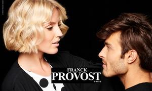 Franck Provost: Franck Provost: strzyżenie z modelowaniem i myciem dla mężczyzn (49 zł) lub kobiet (59 zł) na Wilanowie(do -46%)