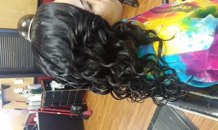 KatrinaJ Hair Studio - Gurnee: Full Sew-In Weave from KatrinaJ Hair Studio (42% Off)