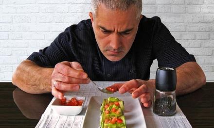 Menú degustación de 8 platos en el domicilio para 2, 3, 4, 5 o 6 personas desde 39,90 € con El Chef en Casa