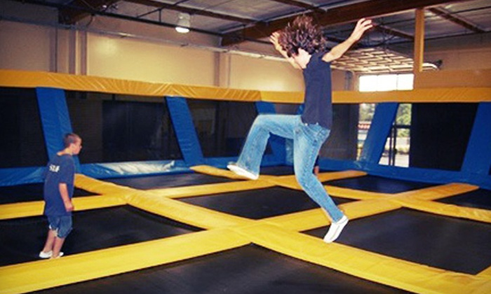 Great Jump Sports - Milpitas: $129 for a Two-Hour Trampoline Birthday Party Package for 10 Kids at Great Jump Sports (Up to $250 Value)