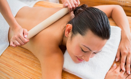 One or Three 60-Minute Bamboo-Fusion Massages at Horizons Integrated Massage Therapy (Up to 62% Off)