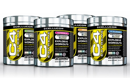 2-Pack of Cellucor C4 Pre-Workout Supplements