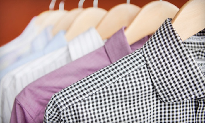 Klinke Cleaners - Multiple Locations: Dry Cleaning at Klinke Cleaners (Up to 55% Off). 12 Options Available.