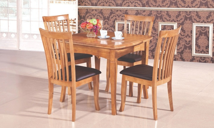 Groupon Goods Global GmbH: Willis Extending Dining Set for €499.98 With Free Delivery