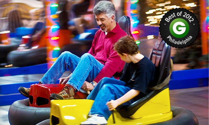 Arnold's Family Fun Center - Upper Providence: Krazy Kars, Bumper Cars, Mini Golf, and Rock Wall for One, Two, or Four at Arnold's Family Fun Center (Up to 52% Off)