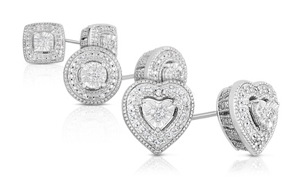1/10 and 1/4 CTTW Diamond Stud Earrings from $59.99–$69.99
