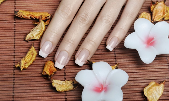 Beautique Nails & Spa - Arden - Arcade: $18 For One Full Set of Pink-And-White Acrylic Nails at Beautique Nails & Spa ($40 Value)