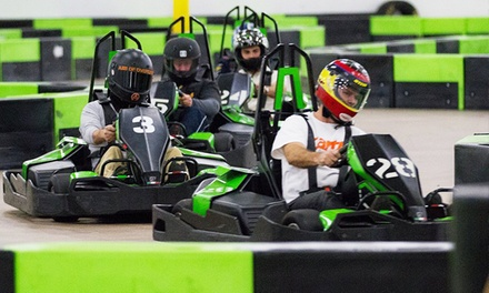14-Lap Indoor Go-Kart Race for Two, Four, or Six at Speed Raceway (Up to 49% Off)