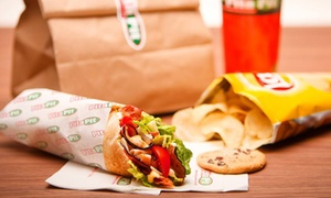 Pita Pit: Two Groupons, Each Good for $10 Worth of Sandwiches, or a 10-Pita Platter at Pita Pit – Fox Valley (40% Off)