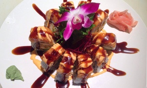 Kiku Japanese Restaurant: $20 for $40 Worth of Sushi and Japanese Fare at Kiku Japanese Restaurant