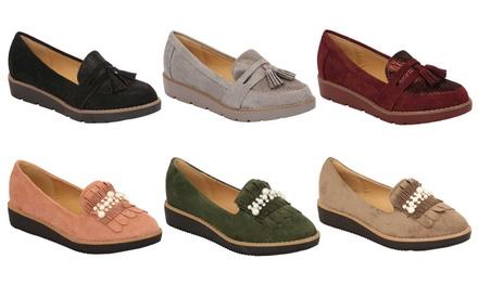 Women's SuedeLook Loafers