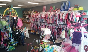 NewEnough Kids Resale: $10 for $20 Worth of Children's Consignment Items at NewEnough Kids Resale