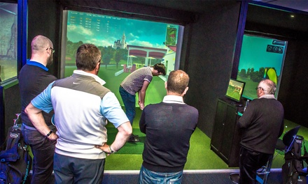Three One-hour Golf Lessons with PGA Members, Assistants and Simulators at iPlayGolf (Up to 64% Off)