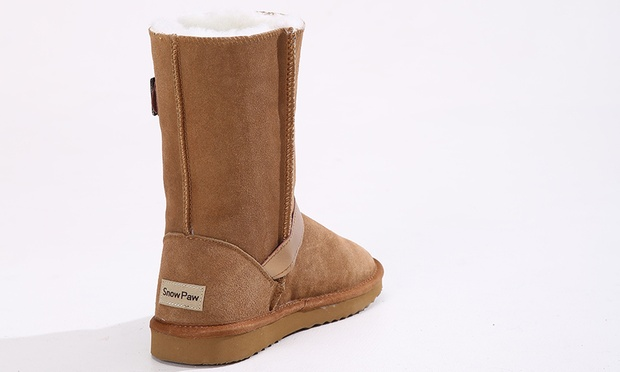 3d290027963c1 Bottes fourrées 100% Cuir SnowPaw   Groupon Shopping