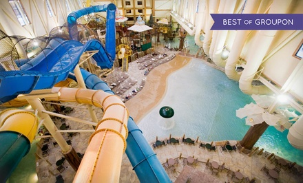 Groupon Deal: Stay with Water Park Passes and Resort Credit at Great Wolf Lodge Cincinnati/Mason in Mason, OH. Dates into March.