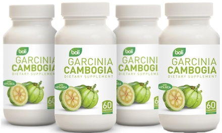 Boli Garcinia Cambogia Weight Loss Supplement 60-Count Bottle (1- or 4-Pack)
