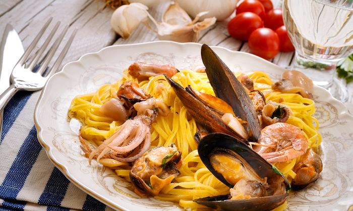 Gusto Divino - Arcisate: Menu di pesce a scelta con antipasto, primo, secondo e vino da 24,90 €