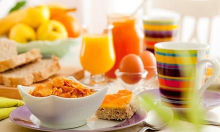 Frühstück nach Wahl für 2 Personen inkl. je 1 Glas Sekt im Novazena