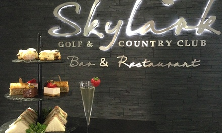 Champagne Afternoon Tea Skylark Golf And Country Club