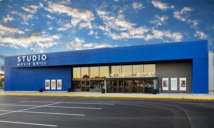 Studio Movie Grill - College Park: $5 for a Movie Outing with a Ticket at Studio Movie Grill (Up to $10.25 Value)