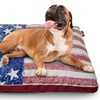 US Flag Gusset Pet Bed with Splash Design