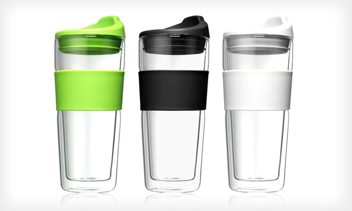 Bohm Double-Walled Glass Tumblers: $19 for a Set of Two Bohm Double-Walled Glass Tumblers ($31.98 List Price)