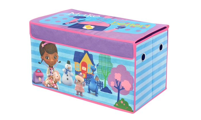 Kidsu0027 Licensed Character Collapsible Storage Trunks | Groupon
