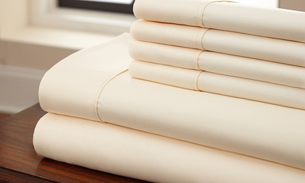 Microfiber Wrinkle-Resistant Sheet Sets (6-Piece)