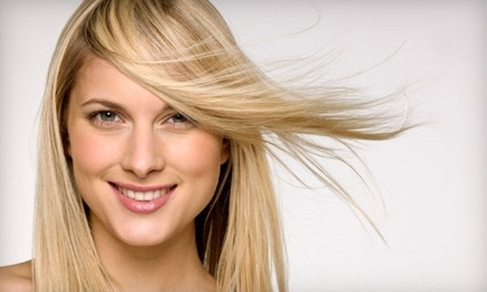 Image Hair Studio - Ellicott City: Haircut and Deep-Conditioning Treatment with Option for Partial Highlights or Color at Image Hair Studio (Up to 62% Off)