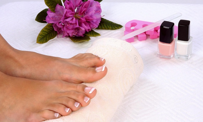 Bella Amour Salon & Spa - Armenia Gardens Estates: A Spa Manicure and Pedicure from Bella Amour Salon & Spa (49% Off)