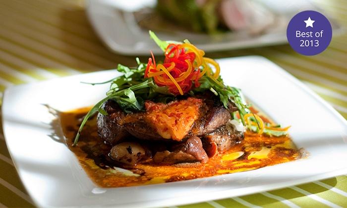 4 Daniowa Kolacja Kuchni Fusion Restauracja Campanula Groupon
