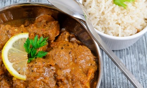 Curry's: Indian Dinner Cuisine for Two, Valid Monday–Thursday or Friday–Sunday at Curry's (Up to 52%Off)