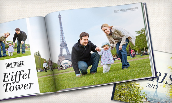 """Custom Photo Books from Picaboo: 20-Page Custom Hardcover Photo Books in 6""""x8"""", 8.5""""x11"""" or 11""""x14"""" from Picaboo (Up to 83% Off). Free Shipping."""