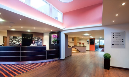 East Riding: 1 or 2 Nights for Two with Breakfast, Wine, Leisure Access and Option for Dinner at Hallmark Hotel Hull