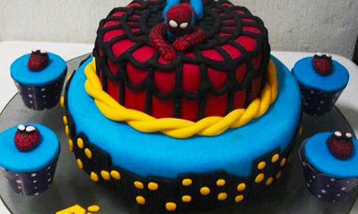 Bella Bolos Decorados - Recife: Bella Bolos – Afogados: bolo decorado com aproximadamente 2, 4 ou 6 kg, a partir de R$ 39,90