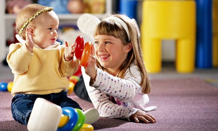 Kidville - Multiple Locations: $42 for a Kids' Indoor Play Package with Three Enrichment Classes and Two Playspace Passes($143 Value)