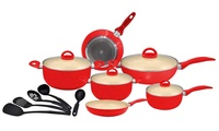 10-Piece (AED 149) or 15-Piece (AED 249) Ceramic Set in Choice of Colour (Up to 75% Off)