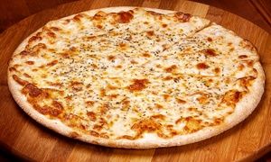 Pie Graph Pizzeria: Pizzeria Meal for Two or Four, or $12 for $20 Worth of Pizzeria Food at Pie Graph Pizzeria